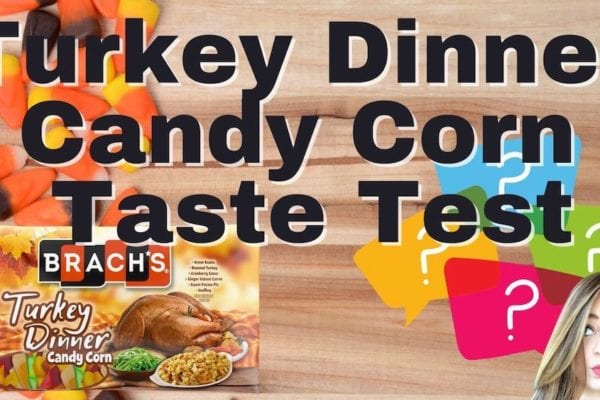 Turkey Dinner Candy Corn Taste Test